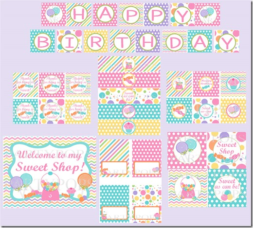 Sweet Shop Pack 1