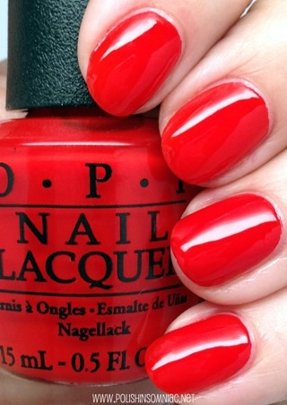 OPI Fashion A Bow