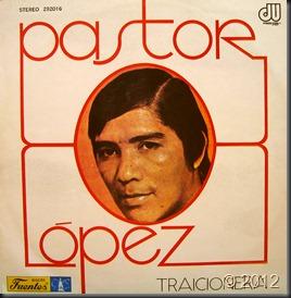 Pastor Lopez - Traicionera - Front