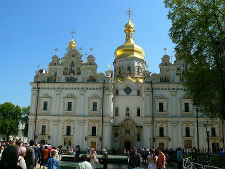 Ce sa vad in Ucraina: Pecharska Lavra de sus