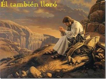 Él también lloró: Imágenes de Jesús orando