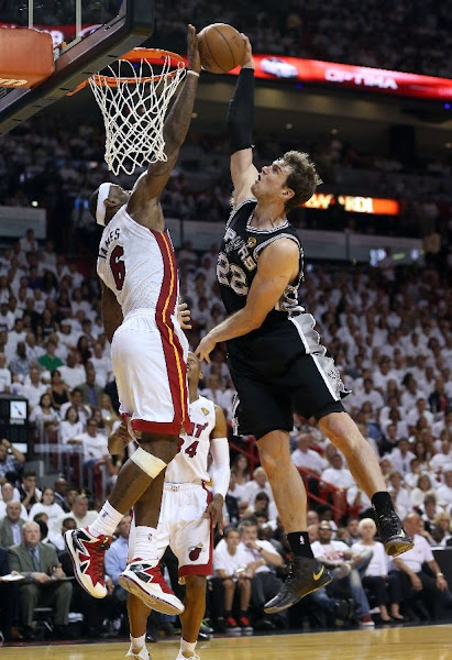 LeBron James Heat Blow Out Spurs to Even NBA Finals after Game 2