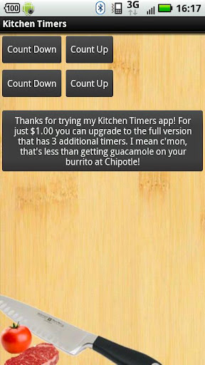 Kitchen Timers Trial