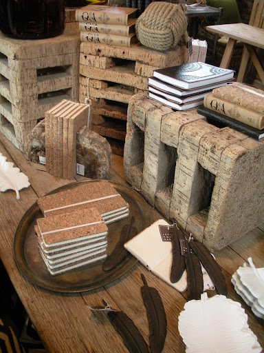 The gifting potential at Jayson Home is high. Love the cork notebooks.