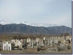 キルギスの墓地