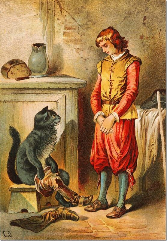 El Gato con Botas,El gato maestro,Cagliuso, Charles Perrault,Master Cat, The Booted Cat,Le Maître Chat, ou Le Chat Botté (108)