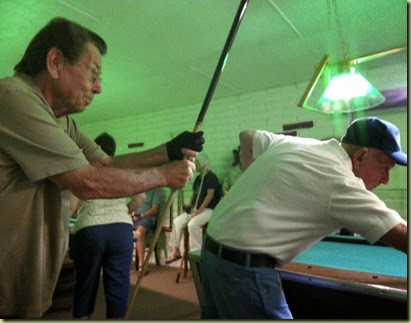 Friendly competition at Pallm Springs annual pool tournament 20140311