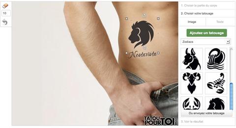 Simulador de Tatuajes
