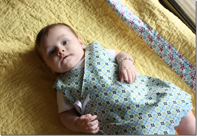 Reversible Dress on Baby