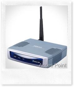 jaringan lokal dengan jaringan wireless/nirkabel para client