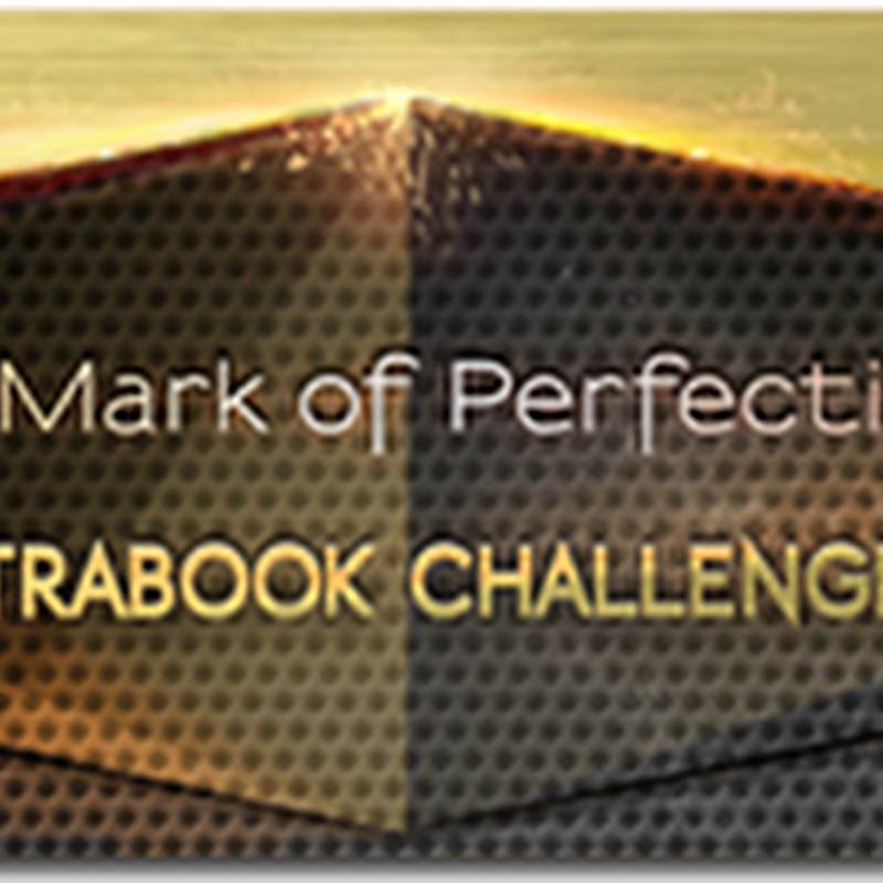 THE MARK OF PERFECTION–ULTRABOOK CHALLENGE