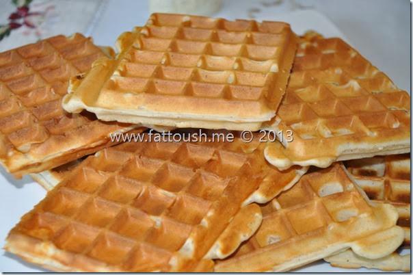 وصفة الوافل من www.fattoush.me