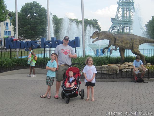 Amusement Park Fun on the Last Day of School