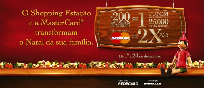 shopping estacao promocao natal 2012