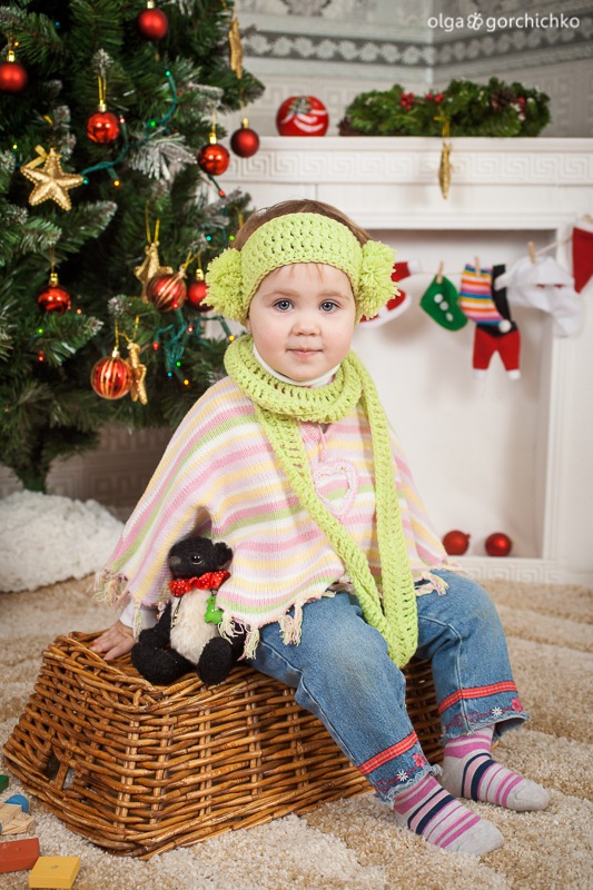 Детский новогодний фотопроект Рождественские мечты. 30. Саша, Маша, Дарина-0946