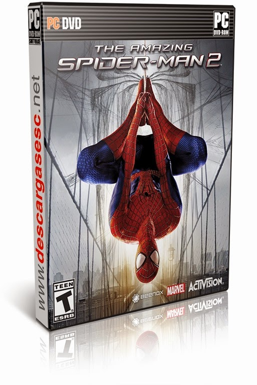 The Amazing Spider-Man 2 Proper-RELOADED-pc-cover-box-art-www.descargasesc.net