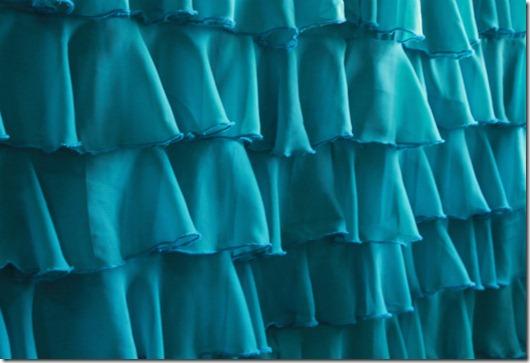 ruffle shower curtain2312