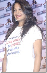 Squash Player Dipika Pallikal At Gillette Shave or Crave Launch
