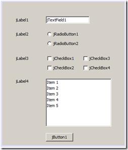 Form Sederhana dengan Java