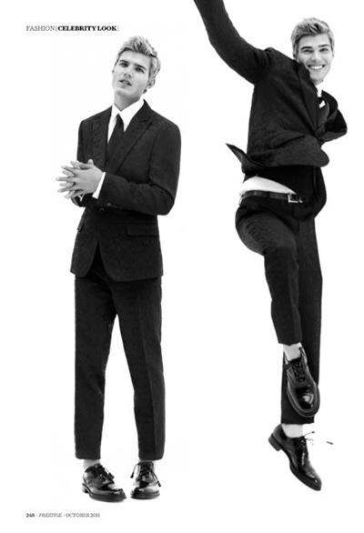 Chris Zylka by Arnaldo Anaya-Lucca for Prestige Mag (HK).  Styled by Paris Libby