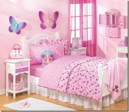 decoración de dormitorios juveniles femeninos2