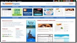 top 20 free blogger templates sites 18 Our Blogger Templates