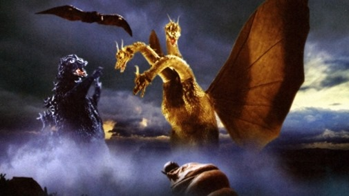lang ghidorah-the-three-headed-monster-fight