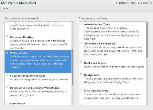 Fedora 18 - Anaconda Netinstall