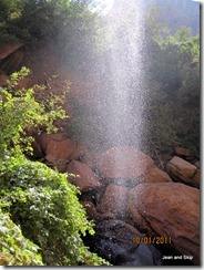 Water Fall at Lower /emerald Pool