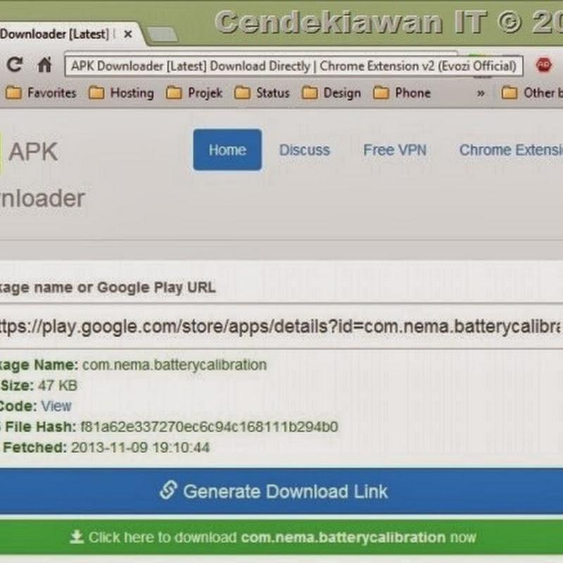 Cara Membuat File Android APK dari Google Play Store