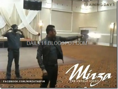 gippy grewal firing with mouser