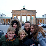 at the Brandenburg Tor in Berlin, Berlin, Germany