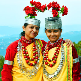 In traditional Khasi dress  by Asif Bora - People Family