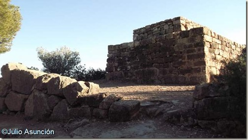 Puntal dels Llops - Torre y muralla ciclópea - Olocau