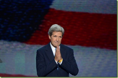 john kerry praying for victory