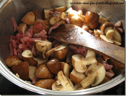 Boeuf Bourguignon - calim ciupercile
