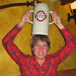 big kaiser beer mug in Seefeld, Tirol, Austria