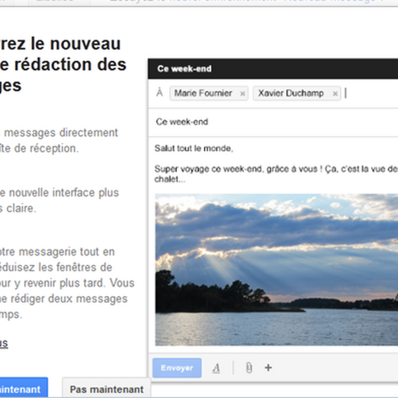 Du nouveau dans Gmail qui fait voluer son ergonomie Comment revenir  lancienne interface Gmail?
