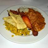 indian dinner in Toronto, Ontario, Canada