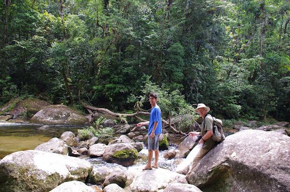 Rio Pouso Alto. Sertao de Barra do Una (SP). 9 février 2012. Photo : J.-M. Gayman