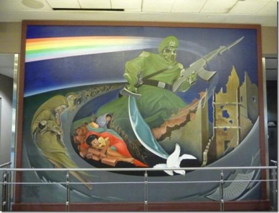Mural Aeroporto de Denver 2
