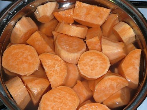 Батат - сладкий картофель