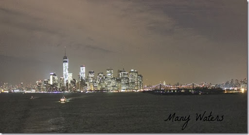 Many Waters NYC Skyline