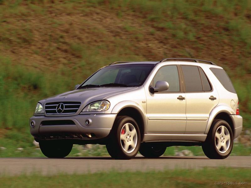2000 Mercedes Benz Ml55 Amg Suv Specifications Pictures