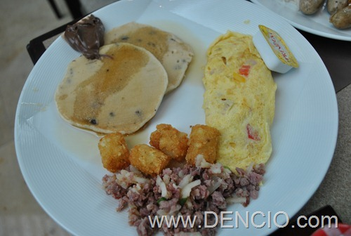 Marina Bay Sands Breakfast