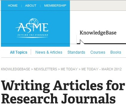 ASME Journal