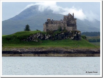 Duart castle on the Isle of Mull. Built as an inpenetrable fortress.