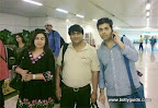 Reader Manju Sharma&#039;s husband Sandeep bumped into Farah Khan and Karan Johar at the Delhi airport.