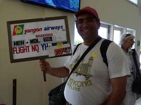 Cum se anunta zborurile in Myanmar