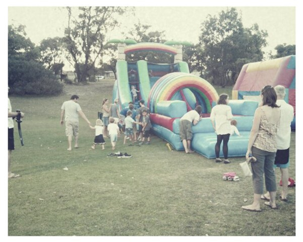 3. inflatable slides
